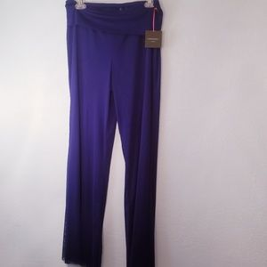 "NWT,Royal blue sheer pants by ""Cynthia Rowley"""